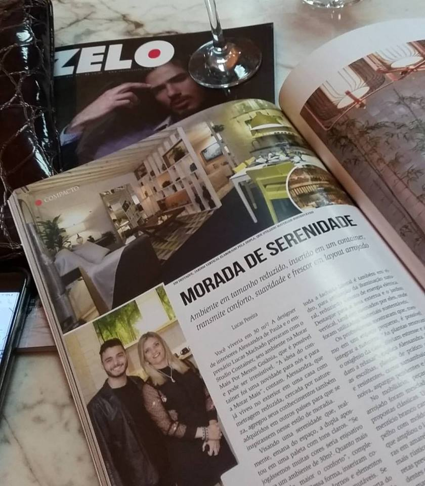 Entrevista na Revista ZELO